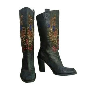Gianni Bini Neal Cowboy Boots